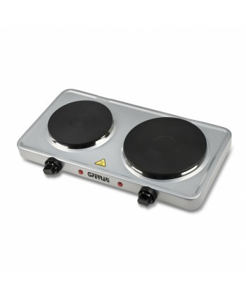 Hotplate Double  Silver
